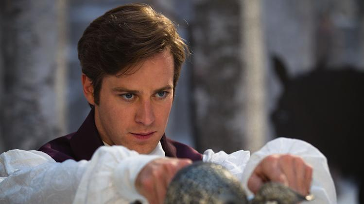 "In this film image released by Relativity Media, Armie Hammer is shown in a scene from, ""Mirror Mirror."" (AP Photo/Relativity Media, Jan Thijs)"