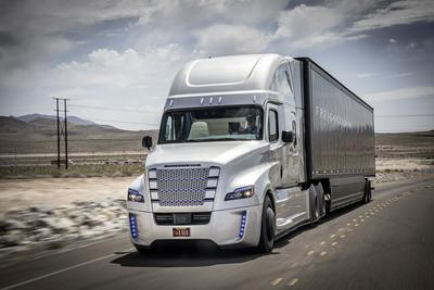This is the first licensed self-driving truck. There will be many more.