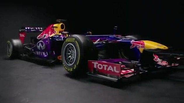 2013 Milton Keynes Launch Red Bull RB9
