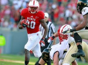 NC State rolls past Wake Forest 37-6