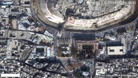 War Is Destroying Syria's Ancient Treasures, Satellite Photos Show