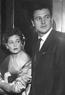 Rock Hudson and his wife Phyllis Gates | Photo Credits: CBS/Landov
