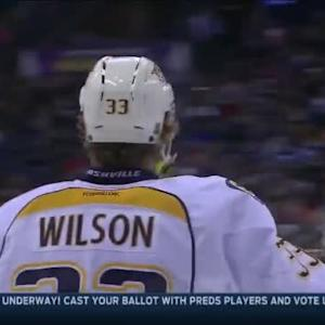 Colin Wilson Goal on Sergei Bobrovsky (07:47/2nd)