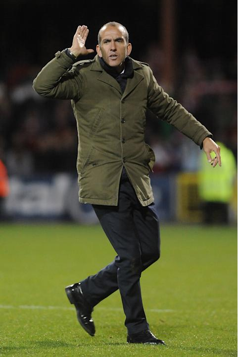 Paolo Di Canio was not happy with his Swindon side despite a 4-1 win