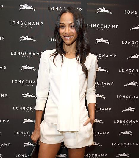 Zoe Saldana Hides Wedding Ring Hand at First Event Since Secret Marriage Bombshell