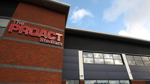 A general view of the exterior of the Proact Stadium, home of Chesterfield (PA Photos)