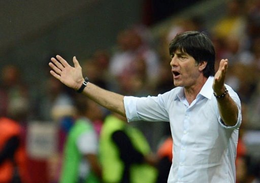 Germany's head coach, Joachim Loew