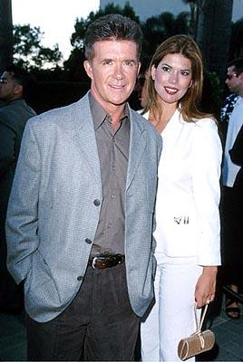 Alan Thicke with a fine-lookin' woman at the Hollywood premiere of Paramount's The Original Kings of Comedy