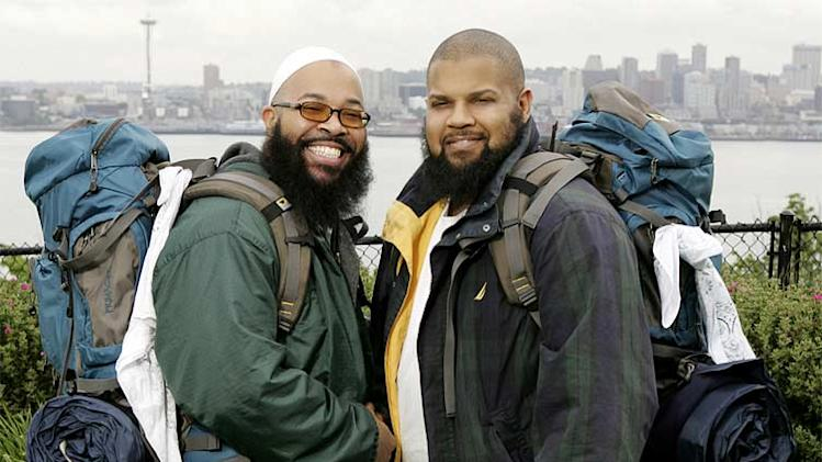 Teammates Bilal and Sa'eed (left to right) are best friends from Cleveland, Ohio who are competing in The Amazing Race 10 on CBS.