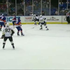Evgeni Malkin feeds James Neal for PPG
