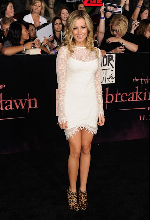 The Twilight Saga Breaking Dawn Part 1 2011 LA Premiere Ashley Tisdale