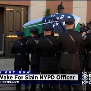 JetBlue Flies Bay Area Police Officers To New York Slain Officer's Funeral