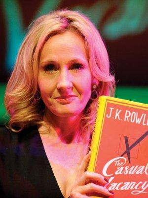 Hollywood Not Wild for New J.K. Rowling Book 'The Casual Vacancy'