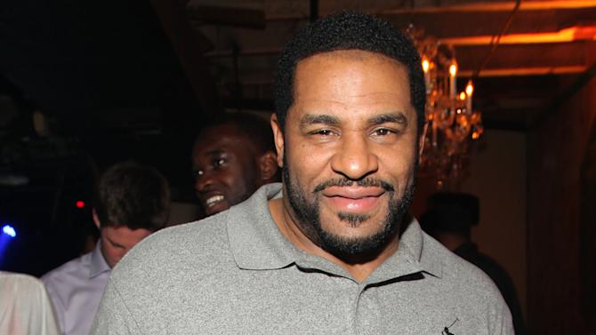 """Jerome Bettis is seen at the Hennessy VS Presents """"Never Stop. Never Settle."""" Super Bowl 2013, on Sunday, Feb. 4, 2013 in New Orleans. (Photo by Omar Vega/Invision for Hennessy/AP Images)"""