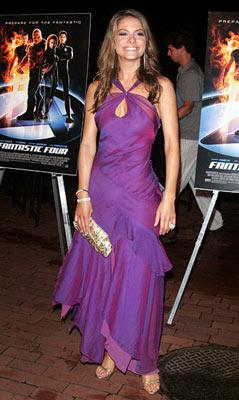 Maria Menounos at the New York premiere of 20th Century Fox's Fantastic Four