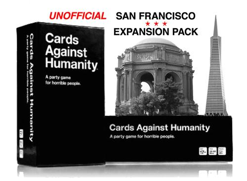 Cards Against Urbanity: Contribute to Curbed's Unofficial San Francisco-Themed Expansion Pack for Cards Against Humanity