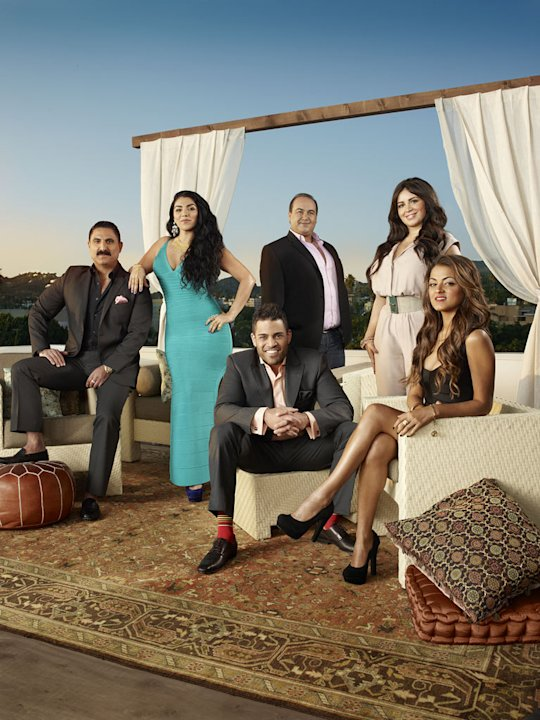 The cast of &quot;Shahs of Sunset.&quot; 