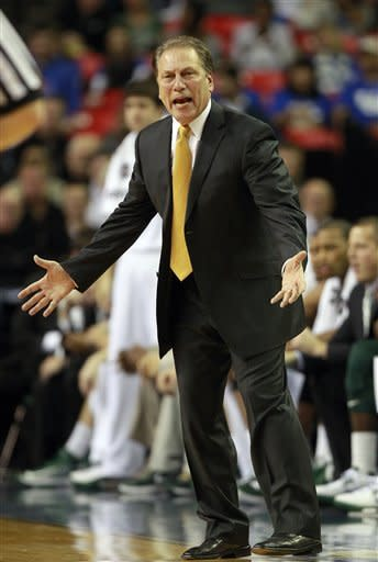 Appling leads Michigan St. past Kansas 67-64