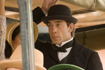 Javier Bardem in New Line Cinema's Love in the Time of Cholera