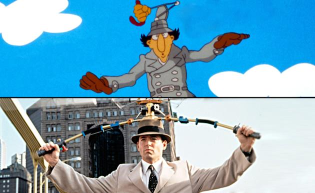 Split Screen Cartoon Characters gallery 2010 Inspector Gadget