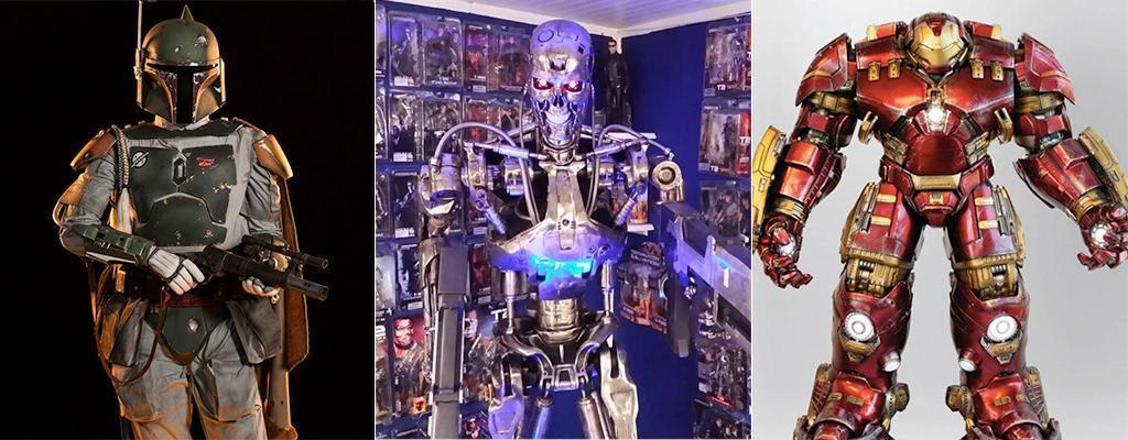The World's Coolest Toys: $9,000 Life-Size 'Iron Man'
