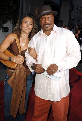 Ving Rhames with wife Deborah Reed at the Hollywood premiere of Paramount Classics' Hustle & Flow