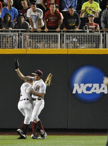 Arizona beats Florida St. 4-3 in 12 innings at CWS