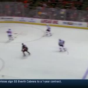 Andrew Hammond Save on Francois Beauchemin (11:37/2nd)