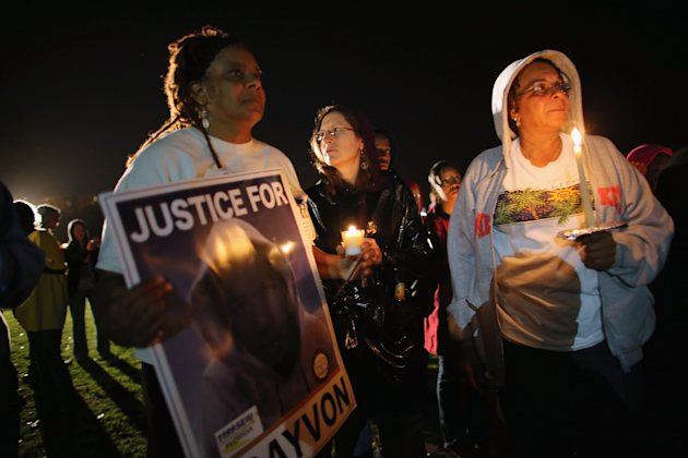 Candlelight Vigils Marks One Year Anniversary Of Trayvon Martin's Death
