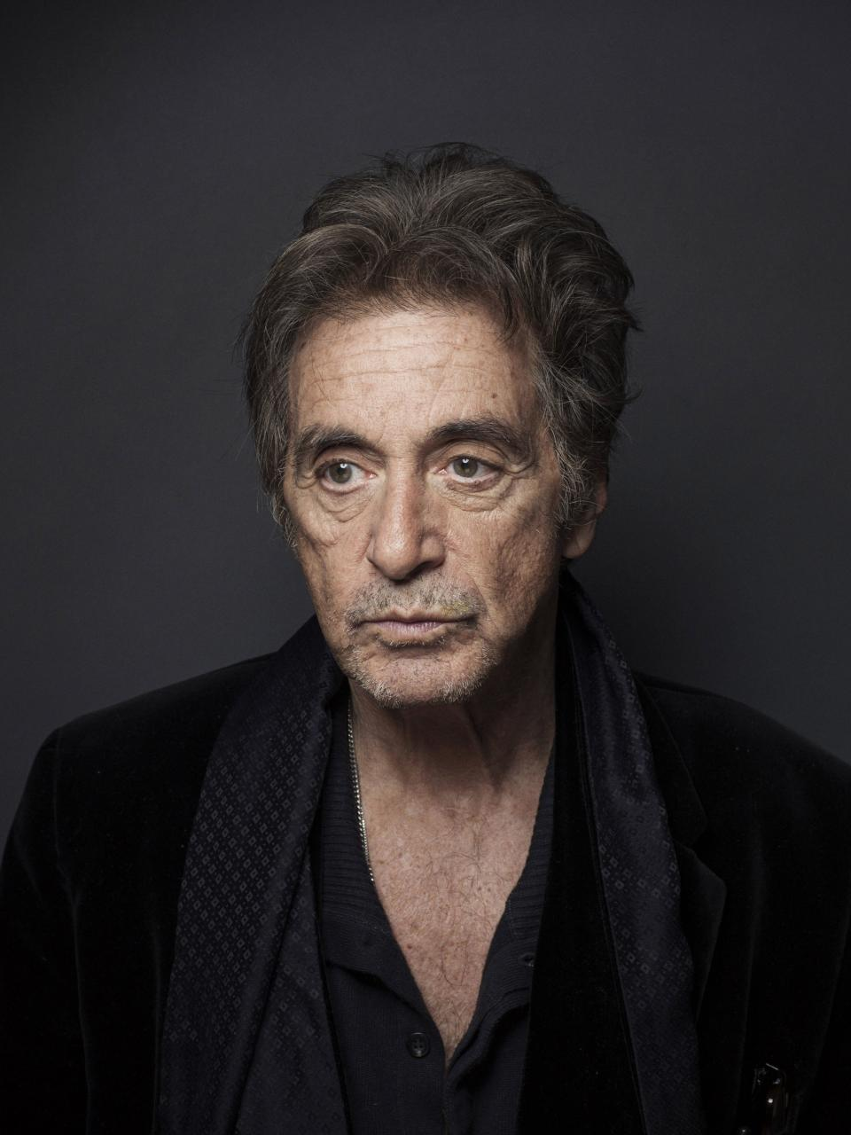 "This Dec. 7, 2012 photo shows Al Pacino in New York. Pacino stars in the new film, ""Stand Up Guys.""  (Photo by Victoria Will/Invision/AP)"