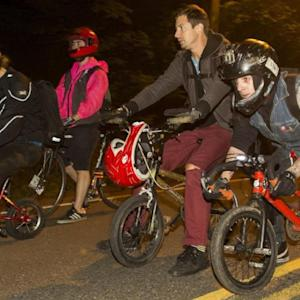 Portland Bikers Head to the Hills for Weekly Race