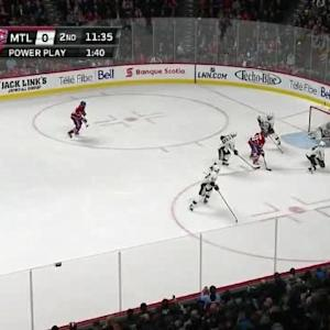 Marc-Andre Fleury Save on Alex Galchenyuk (08:27/2nd)
