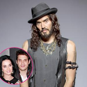 "Russell Brand: Katy Perry's New Boyfriend John Mayer Is a ""Worse or Better"" Womanizer Than Me ""Depending on How You View It"""