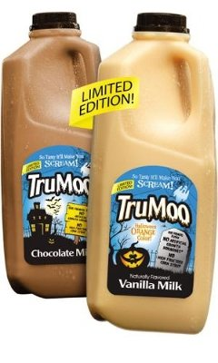 TruMoo(R) Launches Limited Edition Halloween-Themed Milks Nationwide