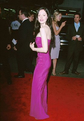 Premiere: Rose McGowan at the premiere of Warner Brothers' Ready To Rumble - 2000