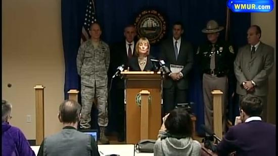 Raw Video: Gov. Hassan on NH storm preps