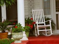 Make your front porch inviting.