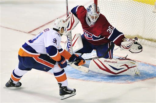 Bailey's shootout goal leads Isles past Canadiens