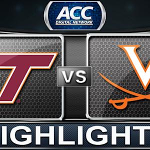 Virginia Tech vs Virginia | 2013 ACC Football Highlights