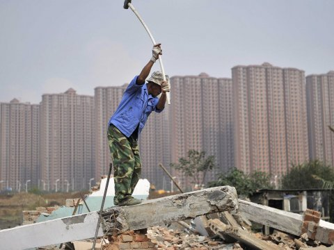 china housing buildings construction