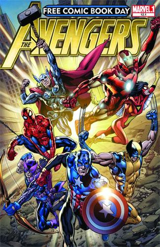 Free Comic Book Day Saturday: 'Avengers' Comic Among the Goodies