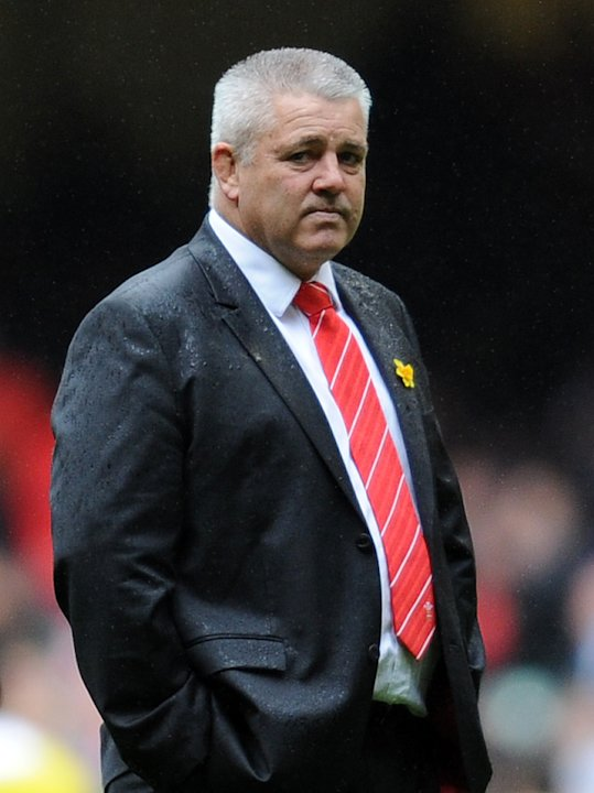 Wales' New Zealand coach Warren Gatland walks on the pitch before the Six Nations International rugby union match between Wales and France at the Millennium Stadium in Cardiff, Wales, on March 17, 201