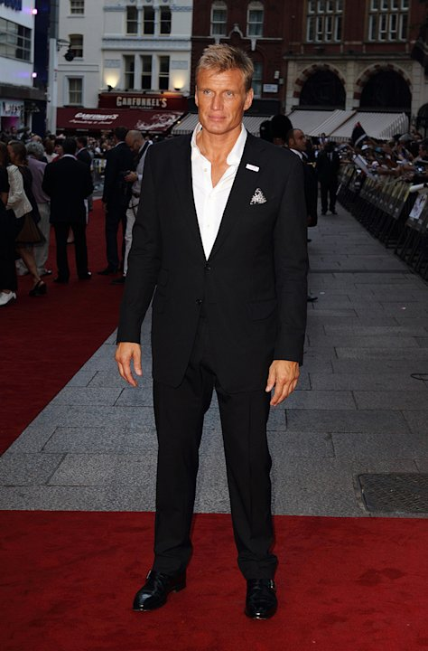 The Expendables UK Premiere 2010 Dolph Lundgren