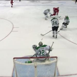 Todd Bertuzzi scores off two defenders sticks