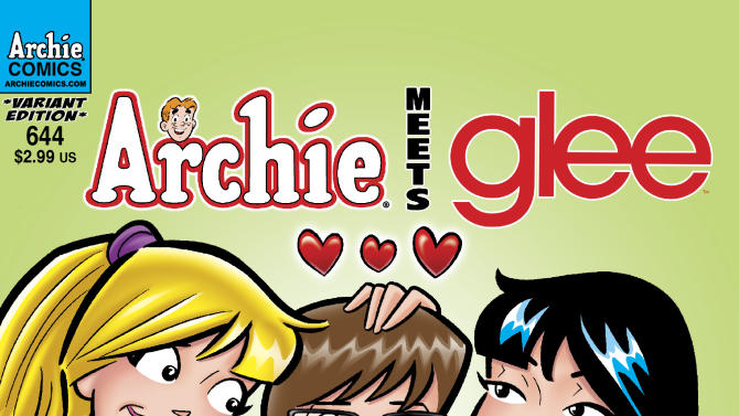 'Glee' and 'Archie' bridge comics, TV in crossover