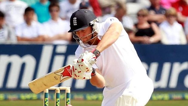 Tim Bresnan scored a century for England against Essex this week