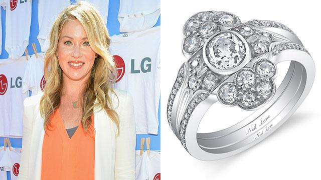 Up Close: Applegate's Gorgeous Wedding Ring