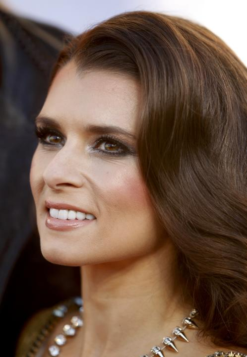 Race car driver Danica Patrick arrives at the 4th annual American Country Awards in Las Vegas