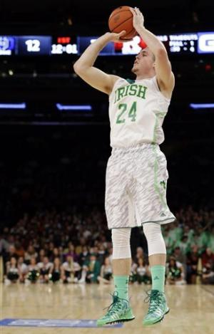 No. 24 Notre Dame tops Rutgers at Big East tourney