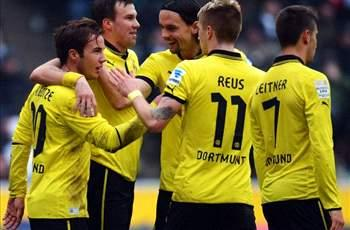 Borussia Monchengladbach 1-1 Borussia Dortmund: Wasteful visitors denied points by Younes